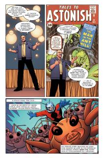 Zdumiewający, fantastyczny, niesamowity Stan Lee - plansza