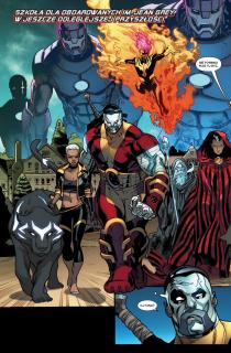 X-Men: Bitwa atomu - plansza