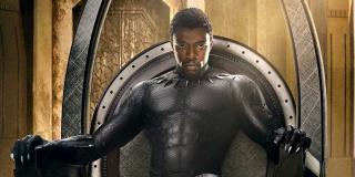 Black Panther - Czarna Pantera - fragment plakatu