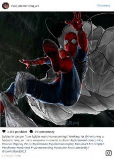 Spider-Man: Homecoming - szkic koncepcyjny