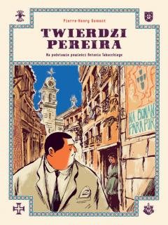 Twierdzi Pereira - okładka