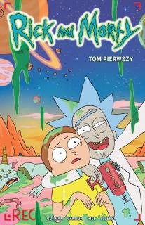Rick i Morty, tom 1 - okładka
