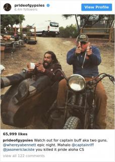 Jason Momoa i jego życie - galeria