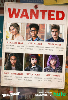 Runaways - plakat 2. sezonu