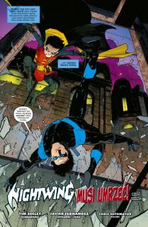 Nightwing #03. Nightwing musi umrzeć - plansza