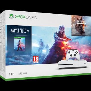 Konsola Xbox One S z dyskiem twardym 1TB i grą Battlefield V – 999 zł