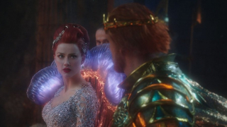 Aquaman - Mera na zdjęciu z filmu