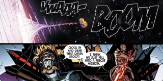 Guardians of the Galaxy #1 - plansze