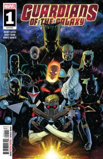 Guardians of the Galaxy #1 - okładka