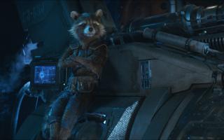 Rocket Raccoon - Avengers: Wojna bez granic (2018)