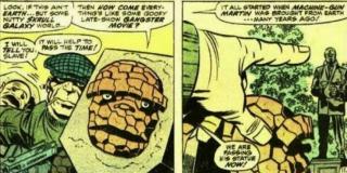 Skrullom zdarzało się traktować herosów jak swoich niewolników – w Tajnej Inwazji stało się tak z podmienionymi członkami Avengers, w innej historii zakładnikiem rasy został Rzecz z Fantastycznej Czwórki.