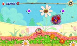 Kirby's Extra Epic Yarn - screeny z gry