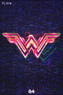Wonder Woman 1984 - plakat CinemaCon