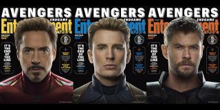 Avengers: Koniec gry - okładki Entertainment Weekly
