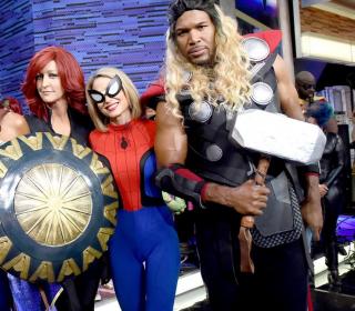 Good Morning America (Czarna Wdowa, Spider-Man, Thor)