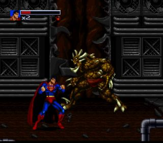 The Death and Return of Superman - SNES, Mega Drive (1994)