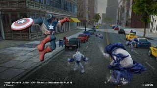 Disney Infinity: Marvel Super Heroes - Xbox One, Xbox 360, PlayStation 4, PlayStation 3, PlayStation Vita, Wii U, PC (2014)