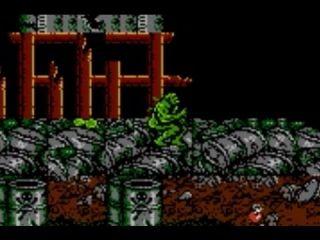 Swamp Thing - GameBoy, NES (1992)