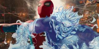 Gdy licealiści zastanawiają się nad tym, kim jest Mysterio, Flash Thompson wspomina historię marynarza Morrisa Bencha, który po tajemniczym eksperymencie stał się potężną istotą. Morris Bench komiksowym fanom znany jest jako Hydro-Man, stworzony z wody potwór i jeden z wrogów Spider-Mana.