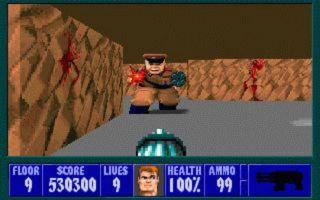 Tak zmieniała się seria Wolfenstein - Wolfenstein 3D (1992)