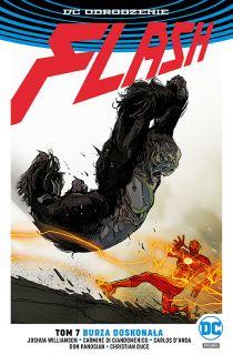 Flash – Burza doskonała, tom 7 - okładka