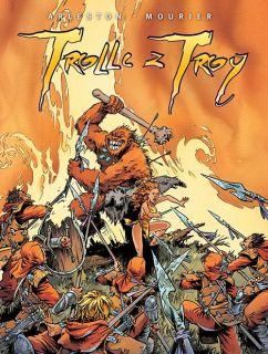 Trolle z Troy (vol. 1-4), tom 1 - okładka