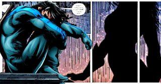 Walcząca z przestępczością Tarantula gwałci wyczerpanego Nightwinga (Nightwing #93)