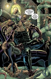 """Z doniesień telewizyjnych dowiadujemy się, że Gotham musi mierzyć się z plagą """"super szczurów"""" – to subtelny easter egg nawiązujący do znanego z komiksów Otisa Flannegana, pracownika deratyzacji, który później został złoczyńcą znanym jako Ratcatcher."""