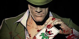 Gdy Arthur wchodzi do szpitala Arkham, na drzwiach windy pojawia się zielony znak zapytania – to najprawdopodobniej nawiązanie do znanego wroga Batmana, Człowieka-Zagadki.