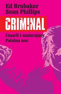 Criminal. Tom 2 - okładka
