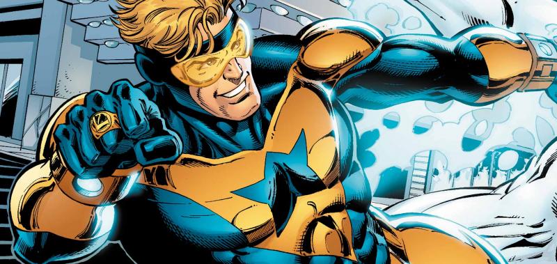 Scenarzysta Power Rangers pracuje nad scenariuszem filmu Booster Gold