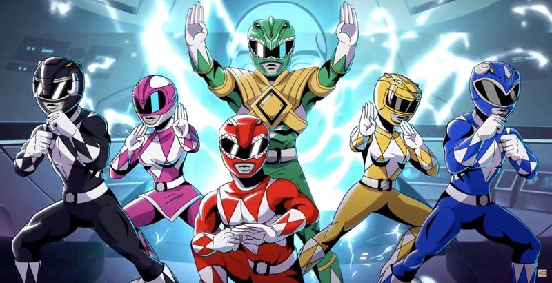 Zobacz zapowiedź gry Mighty Morphin Power Rangers: Mega Battle