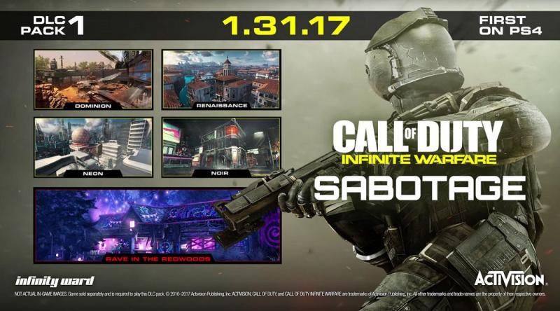Call of Duty: Infinite Warfare – ujawniono szczegóły pierwszego rozszerzenia