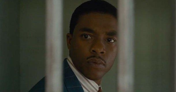 Chadwick Boseman w nowym zwiastunie filmu Marshall