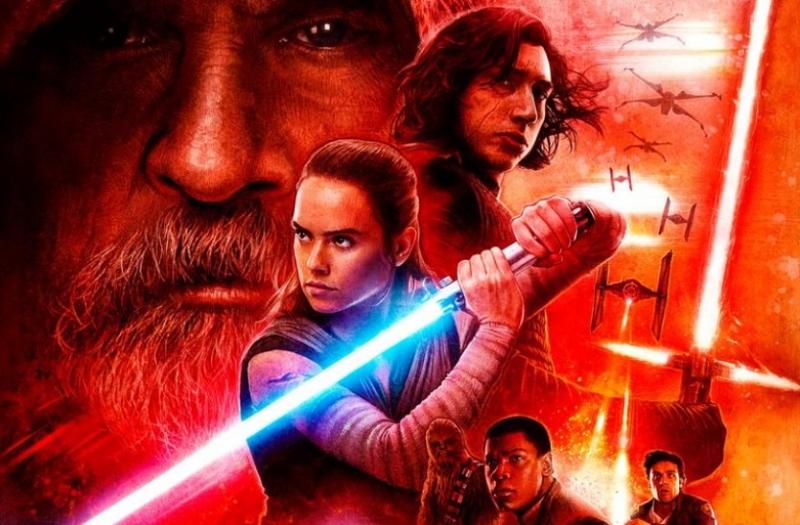 Obsada filmu Gwiezdne Wojny: ostatni Jedi u Jimmy'ego Kimmela