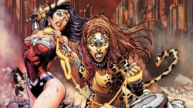 Wonder Woman 1984 - czarny charakter na nowej grafice. Oto Cheetah