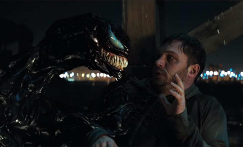 Venom – Tom Hardy podkładał głos symbiontowi, a na planie rozmawiał sam ze sobą