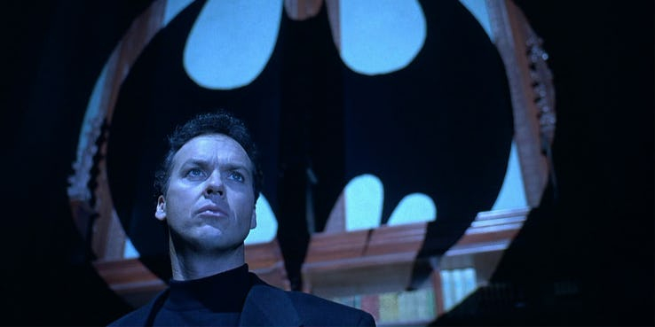 Batman - nigdy nie zgadniecie, kto mógł zagrać Batmana zamiast Michaela Keatona
