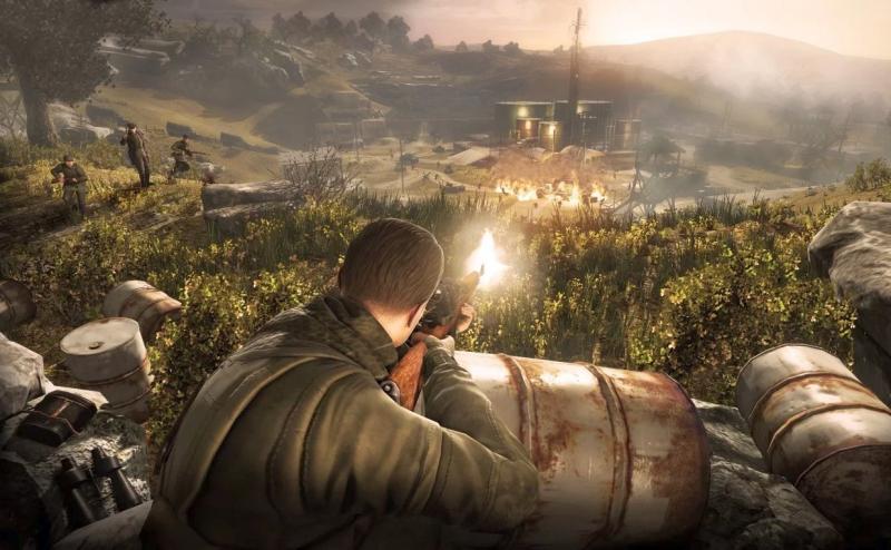 Sniper Elite - popularna seria gier trafi na wielki ekran. Za sterami reżyser Rampage