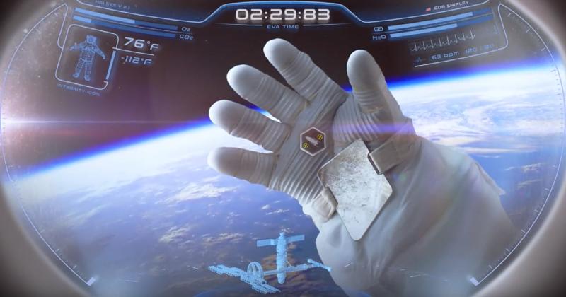 Astronauci będą pracować w hełmach w stylu Iron Mana
