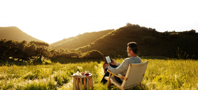 Nowy Kindle Oasis z regulacją barwy podświetlenia