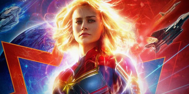 Kapitan Marvel - bohaterka kontra Fury i inne szkice koncepcyjne z filmu