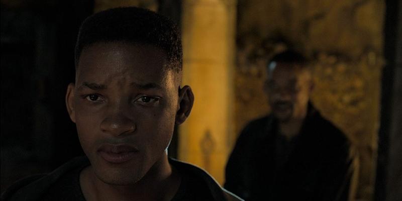 Bliźniak - Will Smith vs Will Smith na międzynarodowym plakacie filmu