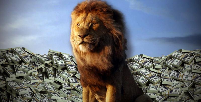 Król lew ma miliard w box office. Dobra passa Disneya w 2019 roku