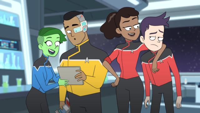 Star Trek: Lower Decks - zdjęcia z nowego serialu animowanego [SDCC 2019]