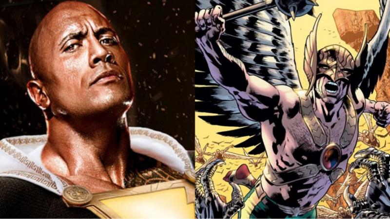 Black Adam - Hawkman pojawi się w filmie DC i kiedy rozpoczną się zdjęcia?