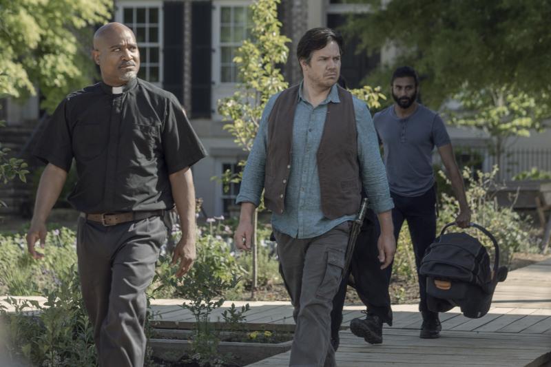 The Walking Dead - nowe zdjęcia z 10. sezonu. Imię dziecka Rosity