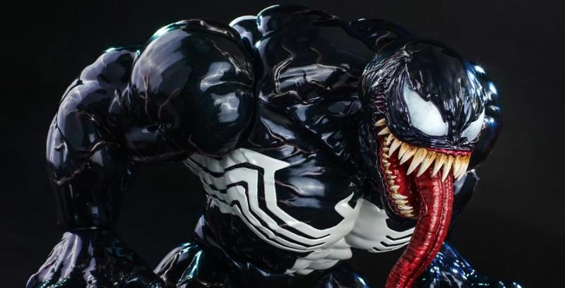 Venom jako figurka, którą nie pogardzi żaden z fanów Marvela