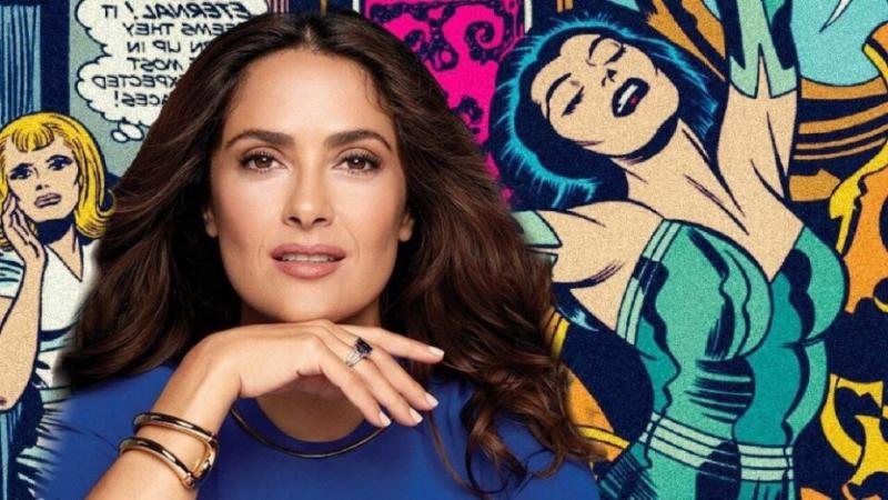 Eternals - Salma Hayek nie otrzymała scenariusza filmu przed przyjęciem roli