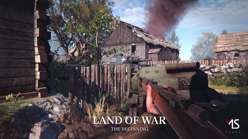 Polacy tworzą grę o początkach II wojny światowej. Zapowiedziano Land of War: The Beginning